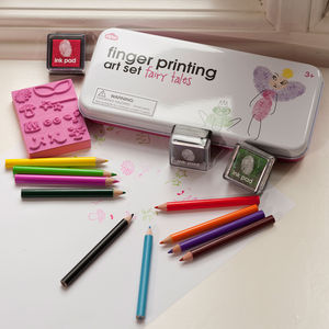 Fairy Tales Finger Printing Art Set - stamps & inkpads