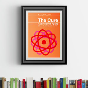The Cure Remixed Gig Poster - home accessories