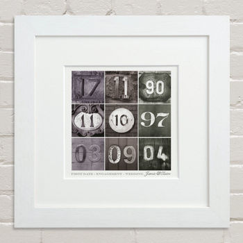 Dates To Remember Print
