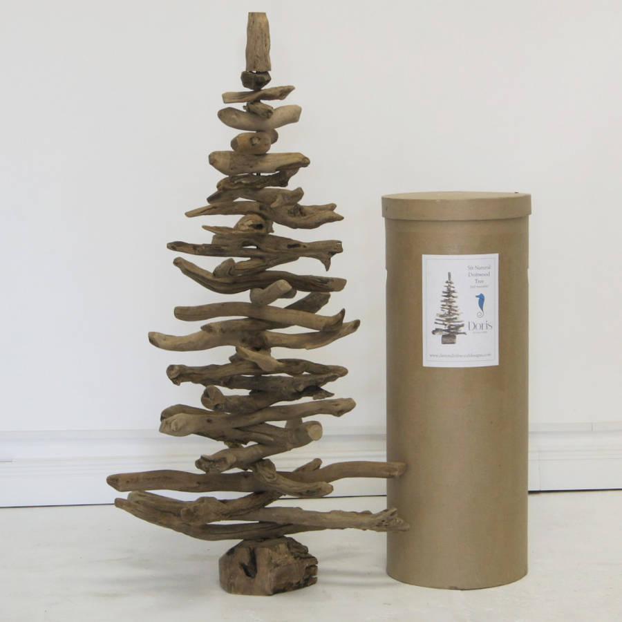 5ft Natural Driftwood Christmas Tree By Doris Brixham