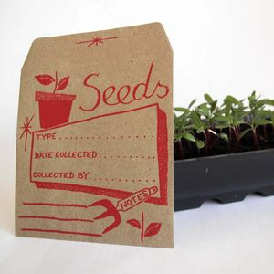 Seed Saver Envelopes - potting shed essentials