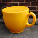 Yellow Tea Cup Stool