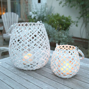Hamptons Lantern - votives & tea light holders