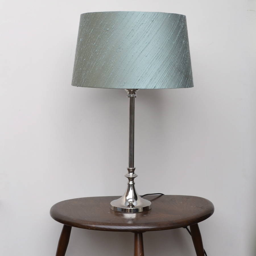 Amilie silk french drum lampshade by swee mei lampshades amilie silk french drum lampshade aloadofball Image collections