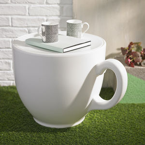 Tea Cup Stool - outdoor living