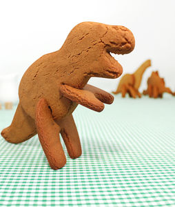 Bake Your Own 3D Dinosaurs - children's cooking