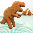 Bake Your Own 3D Dinosaurs