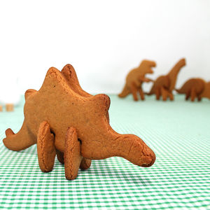 Bake Your Own 3D Dinosaurs - cookie cutters