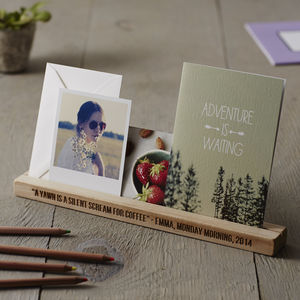 Personalised Desk Organiser - gifts under £50 for her
