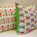 Campervan Holiday Cushion Cover
