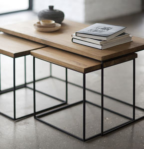 Frame Nest Of Tables - coffee tables