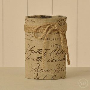 Linen Candle Holder - view all sale items