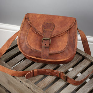 Vintage Saddle Bag Mini - cross body bags