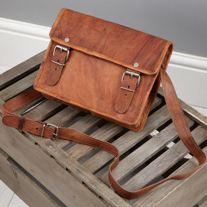 Vintage Leather Bag Mini - cross-body bags