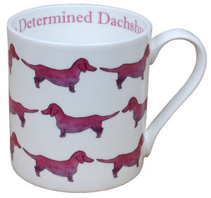 The Determined Dachshund Mug - mugs