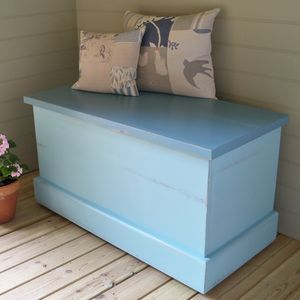 Chest Hand Painted In Any Colour And Size - chests & blanket boxes