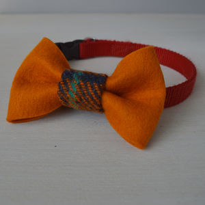 Dog Collar Bow Tie Accessory - dogs