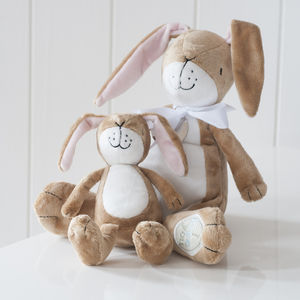 Personalised Nutbrown Hare - christening gifts