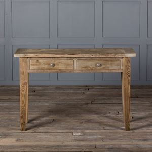Reclaimed Grand Bakers Console Table