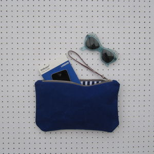 Canvas Clutch Bag - bags & purses