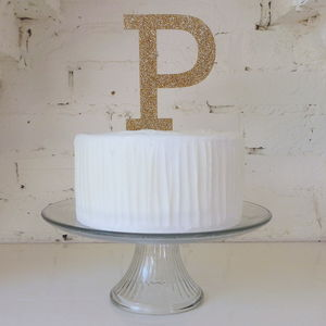 Oversized Letter Cake Topper - cakes & treats