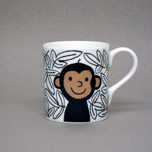 Monkey Mug - crockery & chinaware