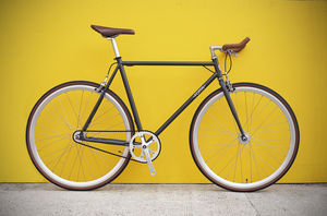 Xmas Sale Rrp £359 Single Speed Fixed Gear Grigia Bike