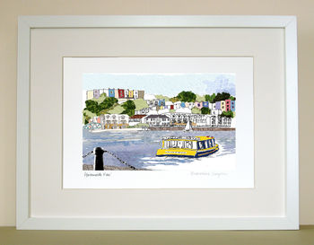 Bristol Print: 'Harbourside View'