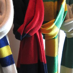 Deluxe Cashmere Football Scarf - gifts for him