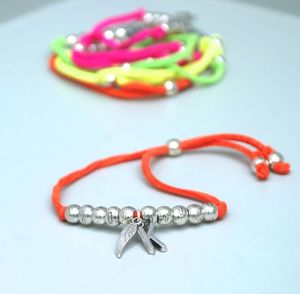 Personalised Neon Bright Suede Friendship Bracelet - bracelets & bangles