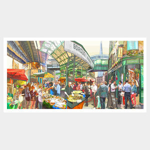 Borough Market Print