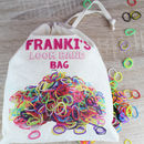 Loom Band Personalised Bag