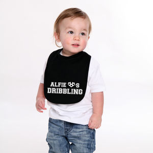 Personalised Dribbling Football Bib