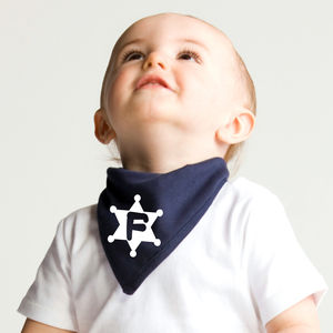 Personalised Baby Dribble Bandana - bibs