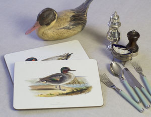 Set Of Four Ducks Tablemats - placemats & coasters