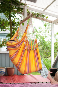 Cayo Carneval Hanging Chair - garden furniture