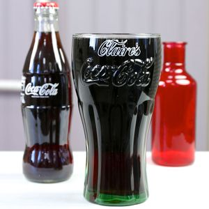 Personalised Coca Cola Glass - tableware