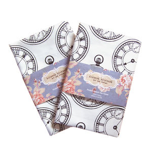 Pocket Watch Tea Towel