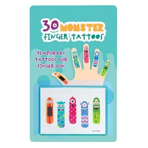 Little Monster Temporary Tattoos - pretend play & dressing up