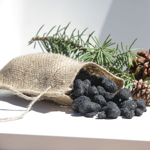 Black Coal Popcorn - christmas food & drink