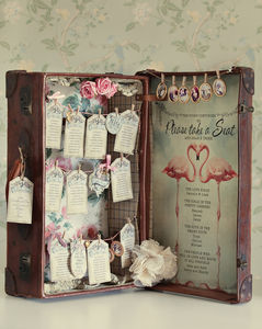 Diy Vintage Inspired Suitcase Table Plan - table plans