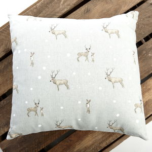 Sophie Allport Stag Cushion - cushions