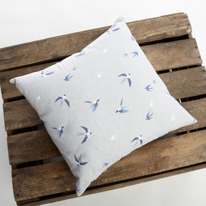 Sophie Allport Swallow Cushion - cushions