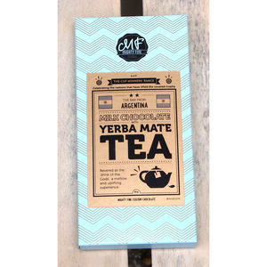 Yerba Mate Tea Milk Chocolate Bar - food & drink gifts