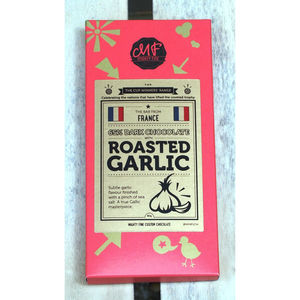 Roasted Garlic Dark Chocolate Bar - food & drink gifts