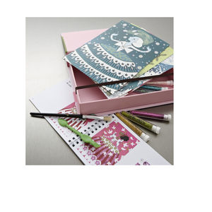 Dresses Glitter Boards Set