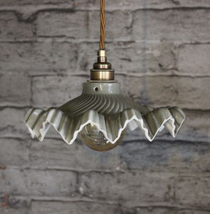 Welby Slate Ceramic Pendant Light