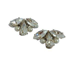 Grace Diamante Bridal Shoe Clips