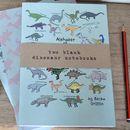 Dinosaur Alphabet Notebook Set