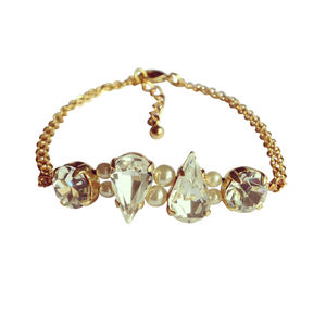 Magda Pearl And Crystal Bracelet